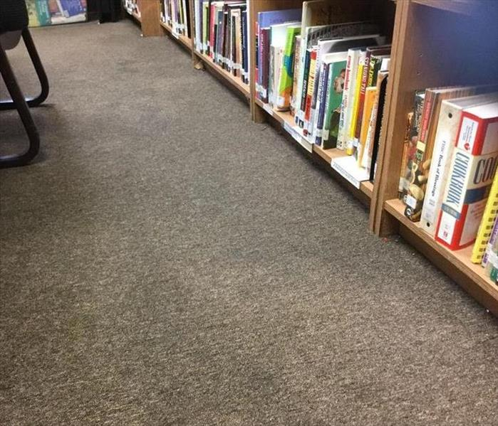 Library Water Damage