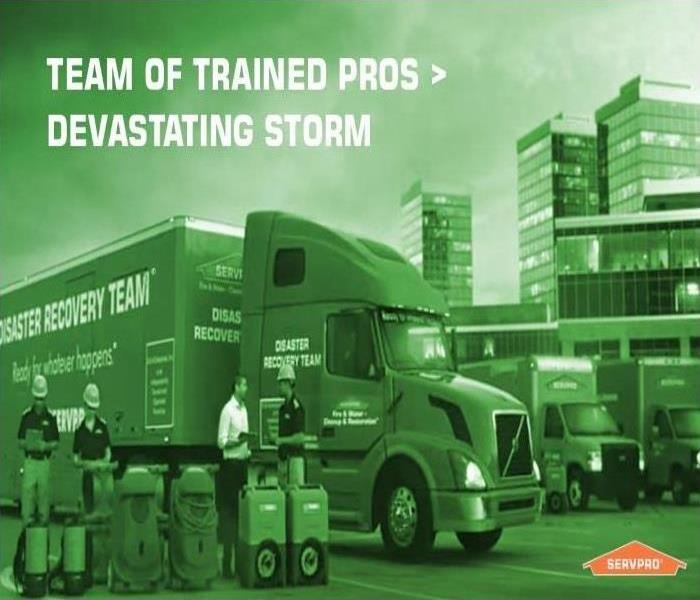 Why SERVPRO When Storms Hit..